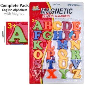 English-Alphabets card board